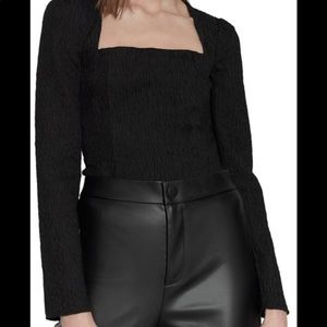 *** ZARA TEXTURED BODY SUIT ***